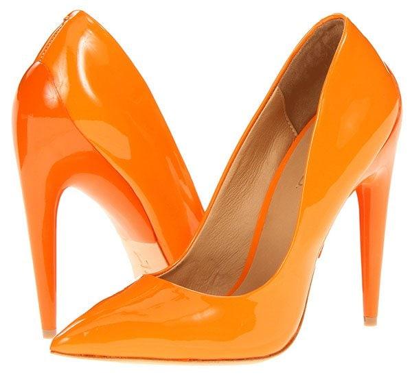 LAMB Jocelyn Pumps Orange
