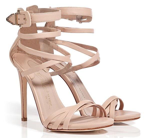 Le Silla Strappy Sandals Nude
