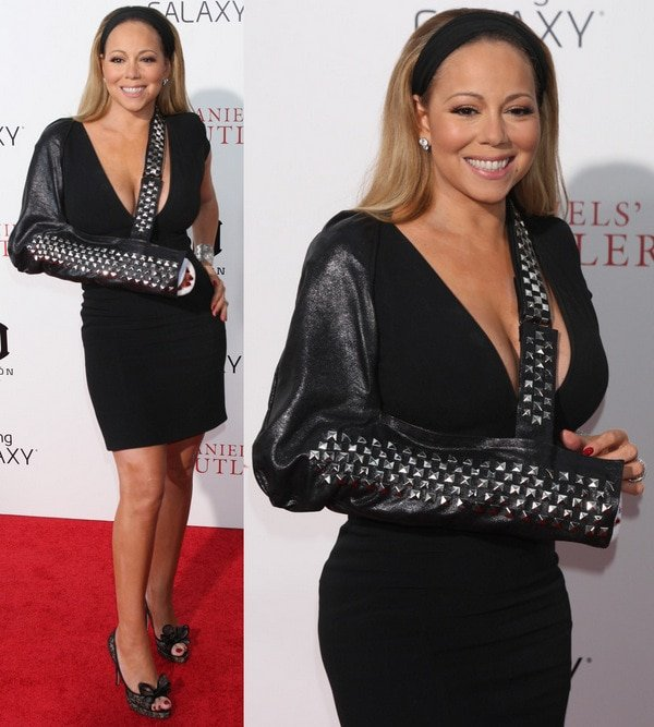 Mariah Carey at the premiere of Lee Daniels' The Butler at the Ziegfeld Theatre in New York City on August 5, 2013