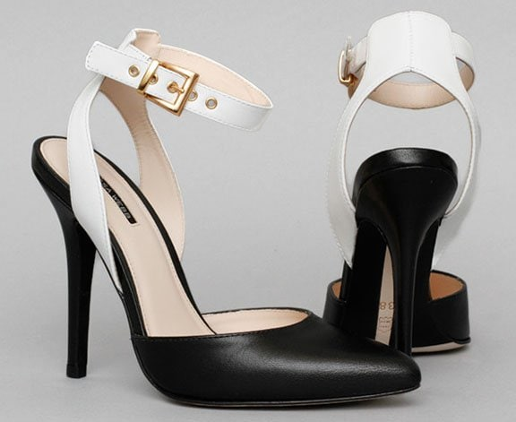 Marissa Webb Willa Pumps Black White