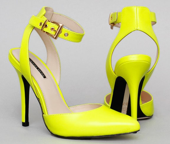 Marissa Webb Willa Pumps Neon