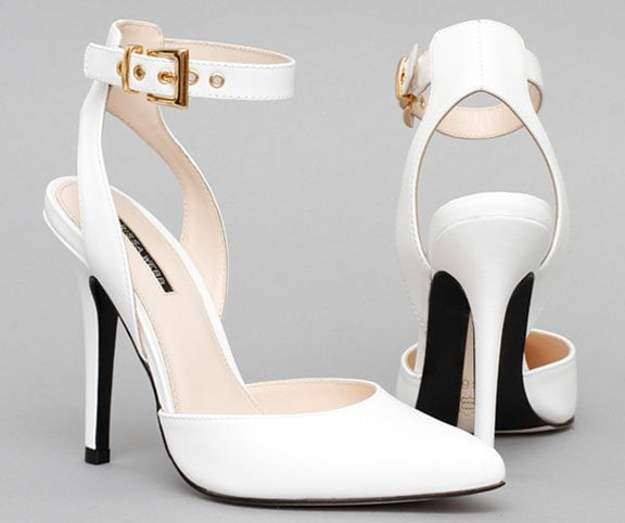 Marissa Webb Willa Pumps White