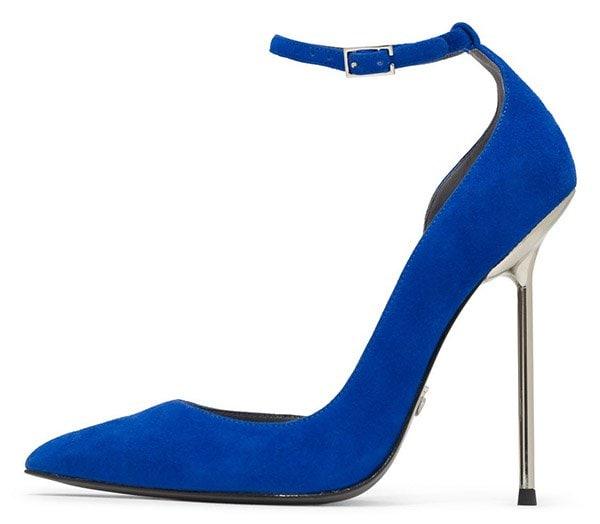 Monika Chiang Zinc Pumps Blue