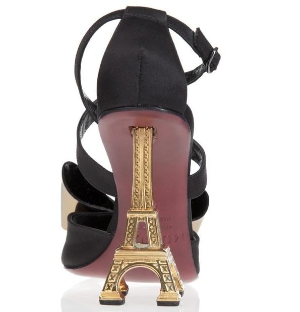 Mugnai Eiffel Tower Peep Toe2