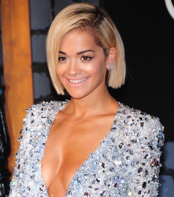 Rita Ora was not Rita-Ora-like at the VMAs this time