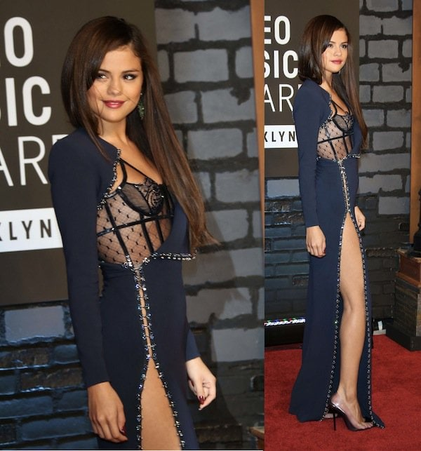 Selena Gomez stunned in head-to-toe Atelier Versace haute couture