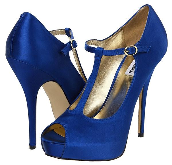 Steve Madden Geaa Pumps Blue