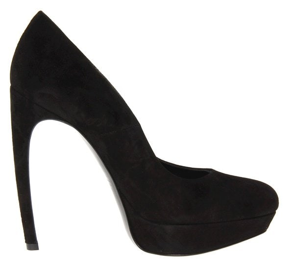 alexander mcqueen platform pumps right side