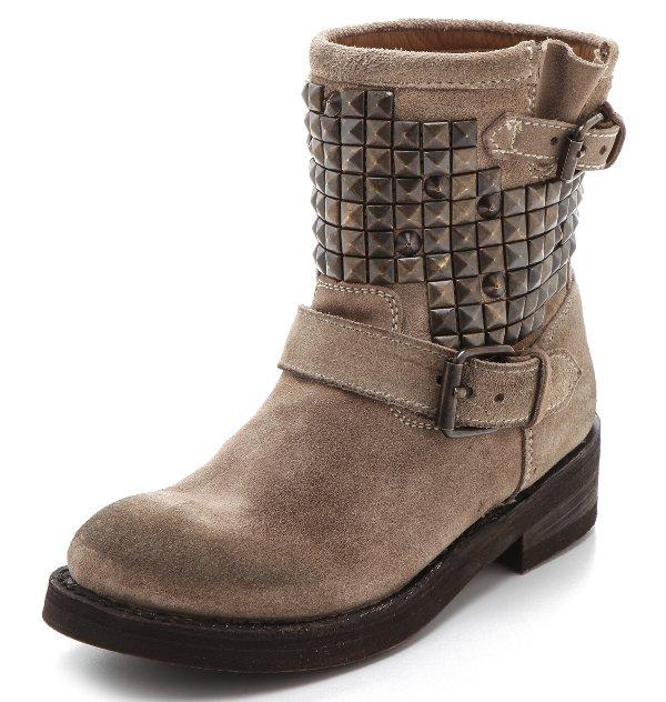 Ash - Titan Studded Flat Boots
