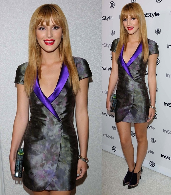 bella thorne instyle summer soiree
