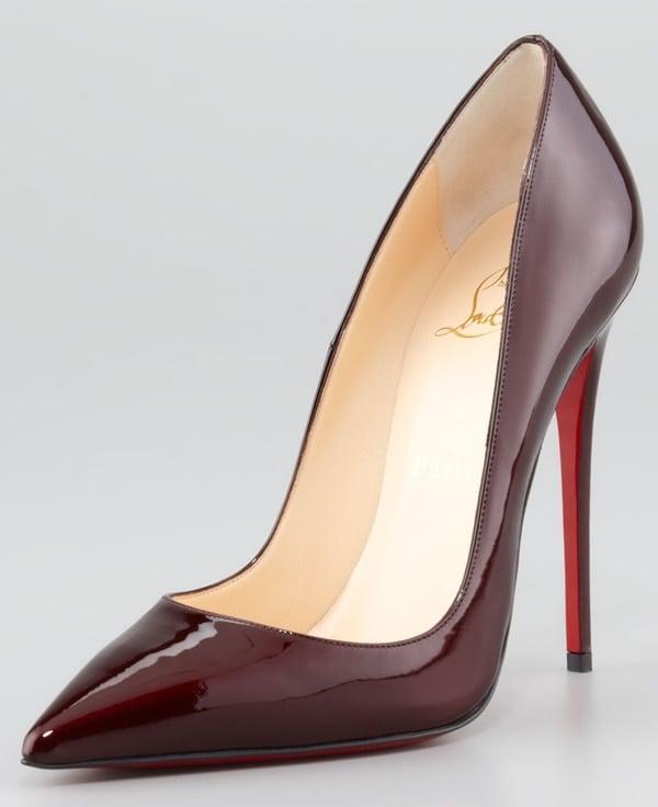 So Kate Pumps in Rouge Noir