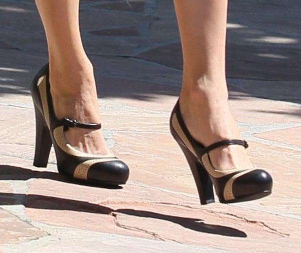 Emmy Rossum Rocks Mary Janes