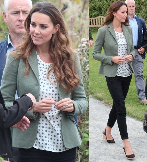 kate middleton in wales