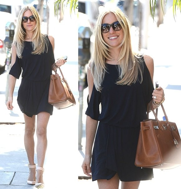 Kristin Cavallari Heads Out of an Office Building in West Hollywood