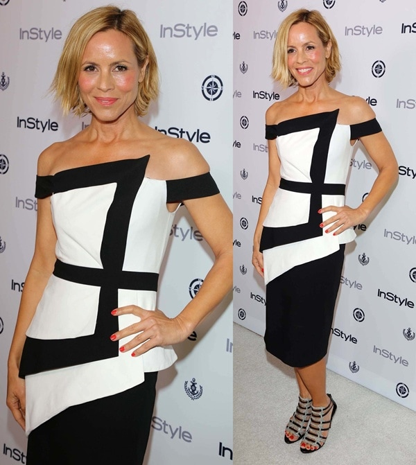 maria bello instyle summer soiree