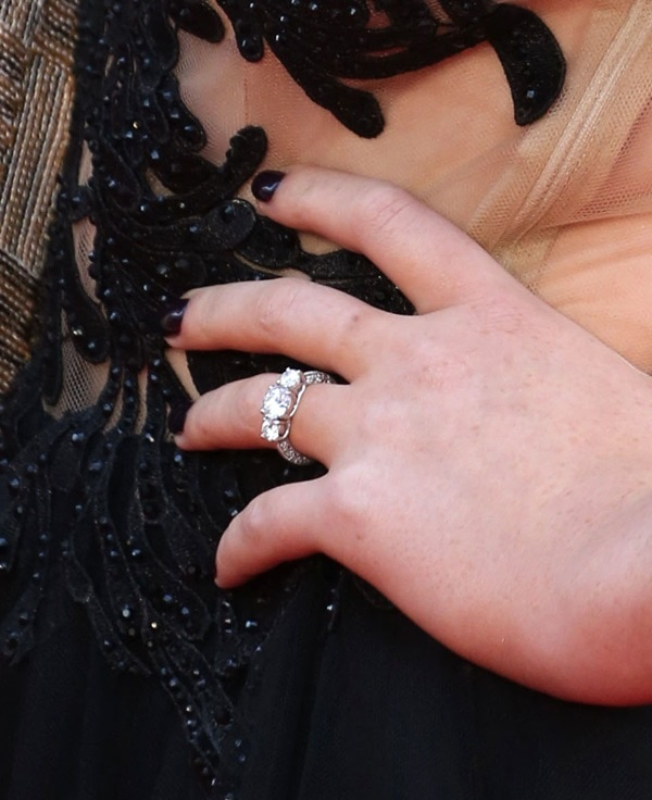 Perrie's engagement ring from Zayne Malik