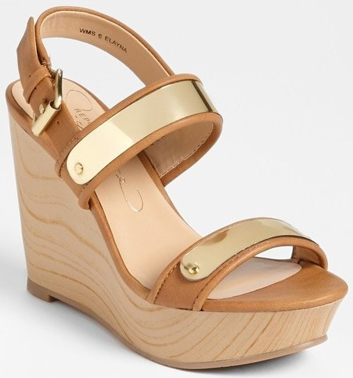 report signature elayna sandals
