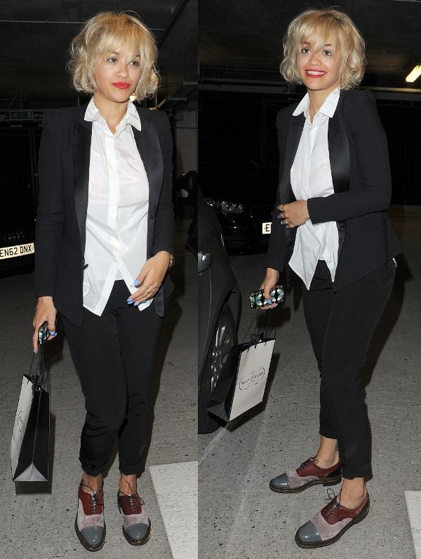 Rita Ora's dated-lookingbig-curl bob