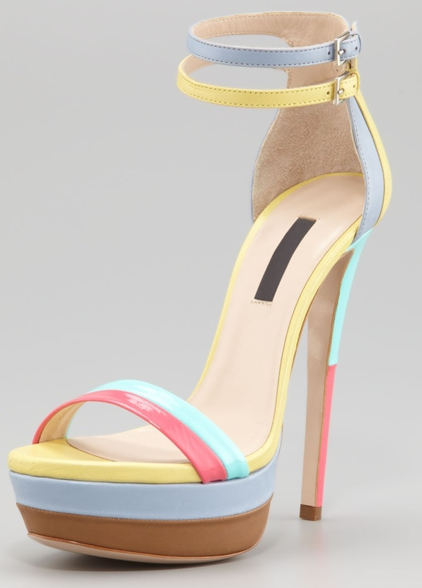 ruthie davis west palm sandal multicolor