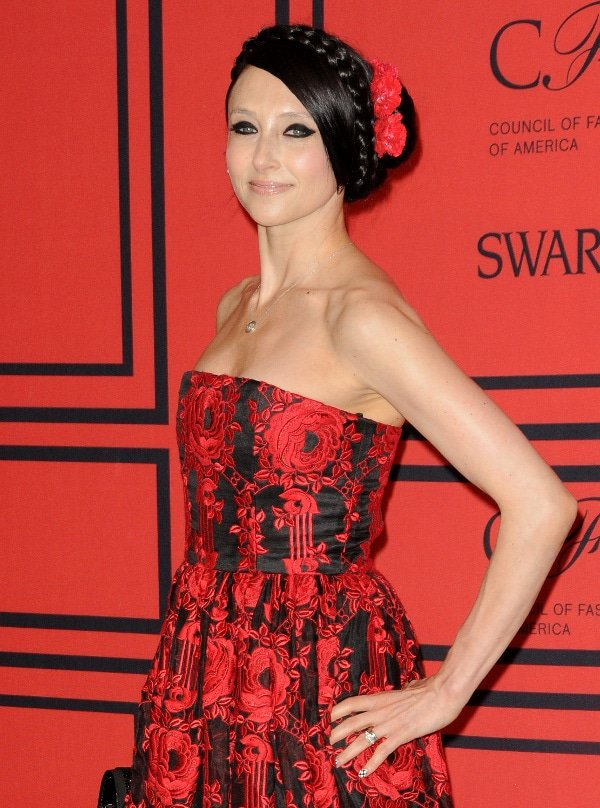 Alice + Olivia founder and designer Stacey Bendet at the 2013 CFDA Awards in New York on June 3, 2013