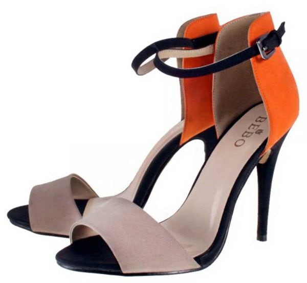 Bebo Colorblock Sandals