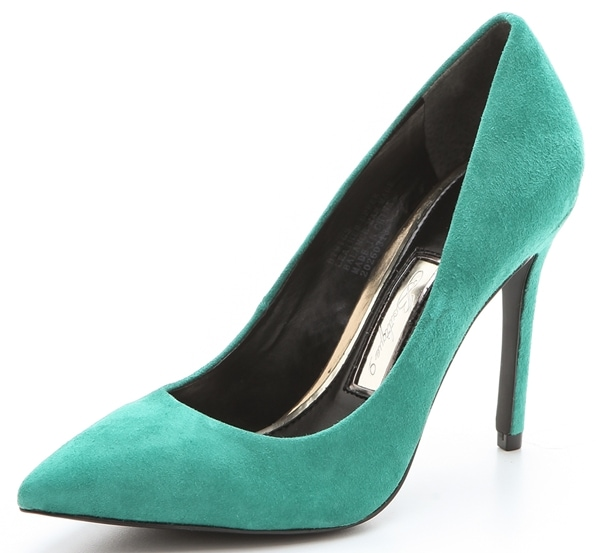 Boutique 9 Migs Pointy-Toe Pumps in Emerald
