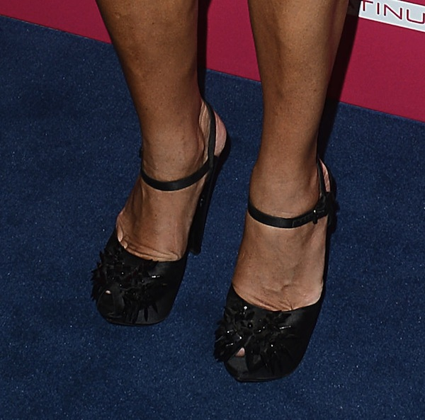 Brooke Shields shoes most stylish party