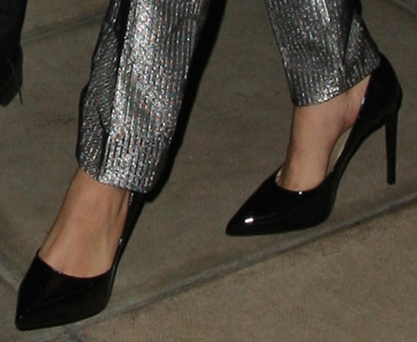 Cara Delevingne's classic pointy-toe pumps
