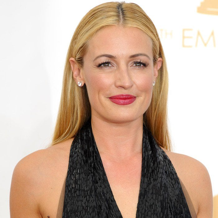 Cat Deeley attends the 2013 Emmy Awards