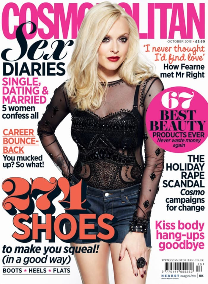 Fearne Cotton on Cosmopolitan's cover