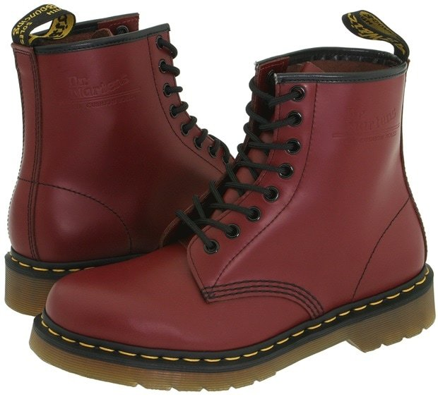 Dr. Martens 1460 Boots in Cherry Red Smooth