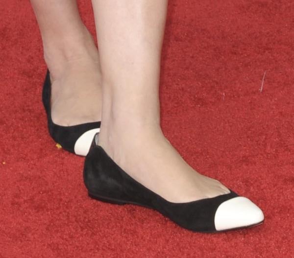 Elsabeth Rohm shoes cwacom 2 premiere