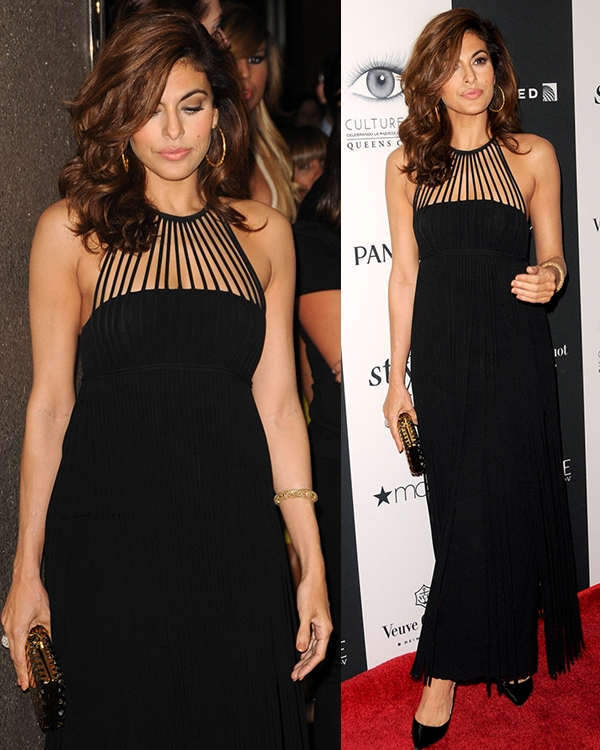 Eva Mendes at the 2013 Vanidades Icons of Style Awards