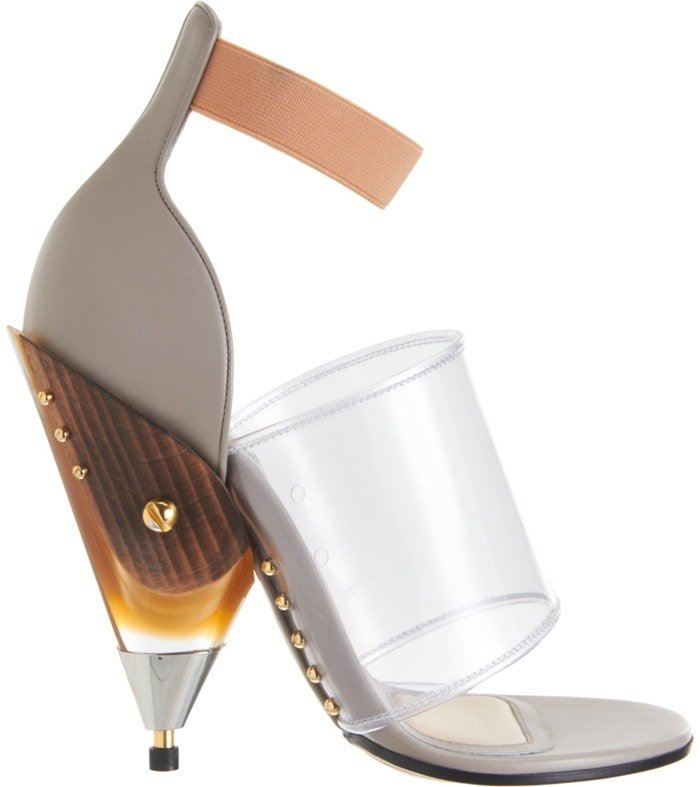 Givenchy Gradient Cone Heel Sandals Side