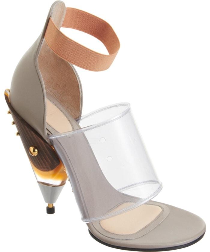 Givenchy Gradient Cone Heel Sandals