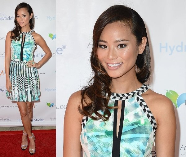 Jamie Chung at Live Love Spa's Splash event in Los Angeles on September 18, 2013