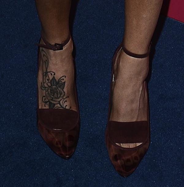 Jenny McCarthy shoes most stylish party