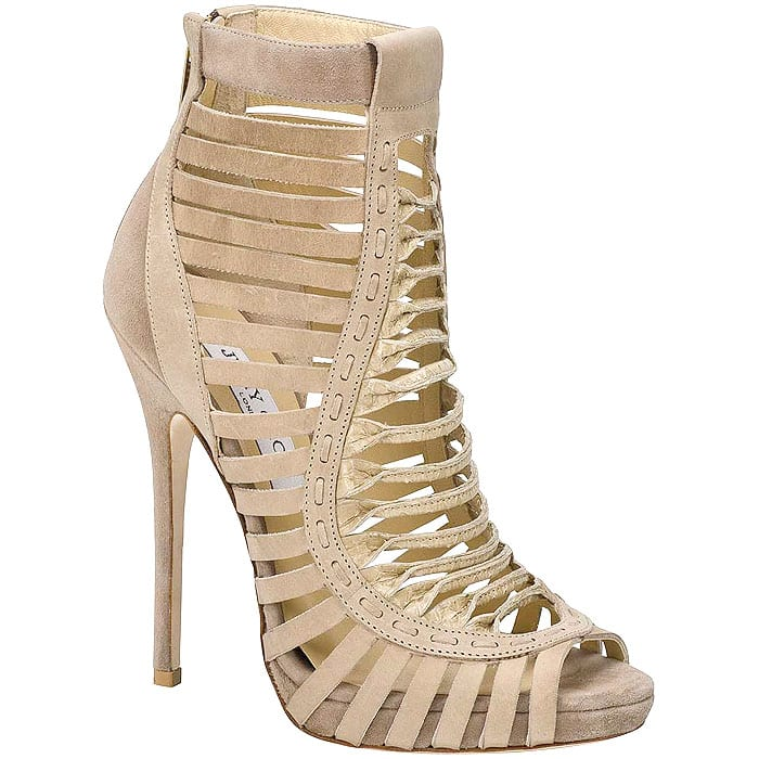 Jimmy Choo Spring 2013 cage booties