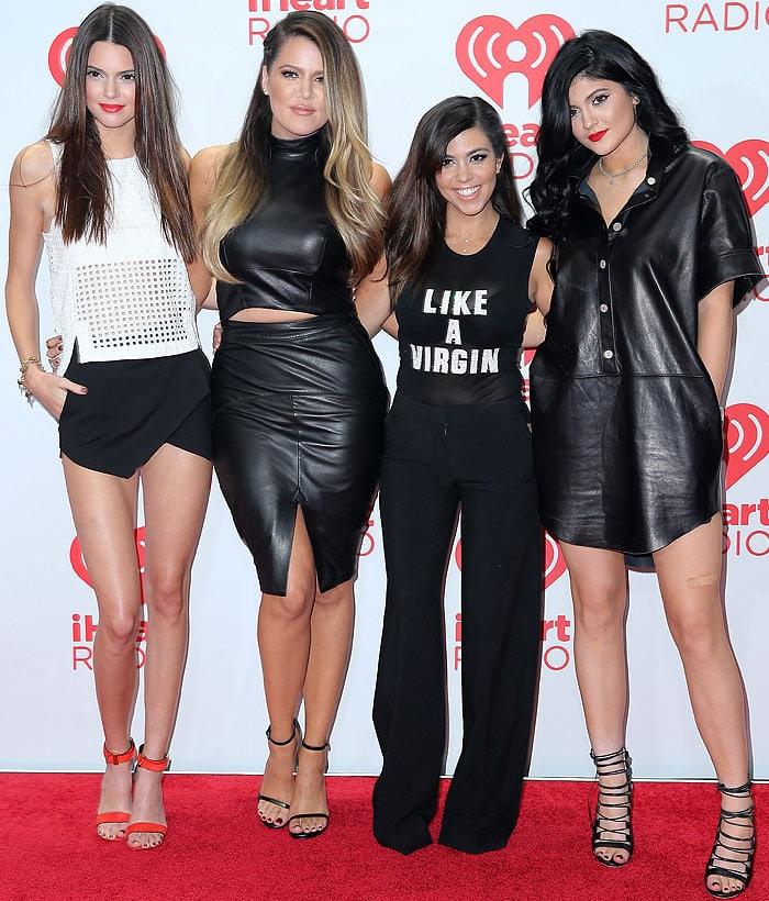 Kardashian Jenner 2013 iHeart Radio Music Festival