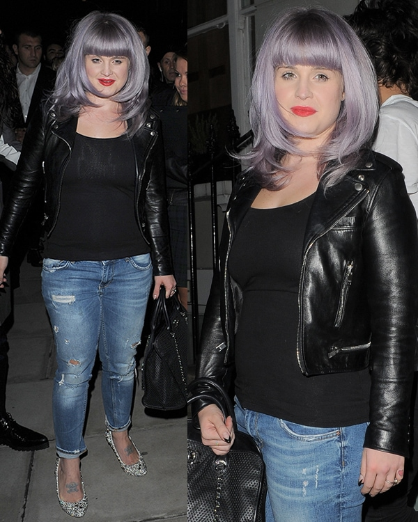 Kelly Osbourne at the W magazine dinner to celebrate its September cover issue in London on September 14, 2013
