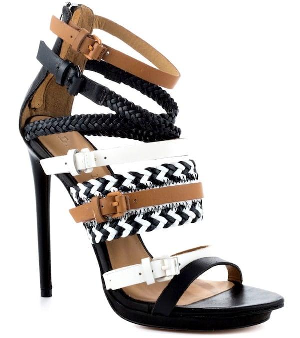"""L.A.M.B """"Jessie"""" Tribal-Print Sandals"""