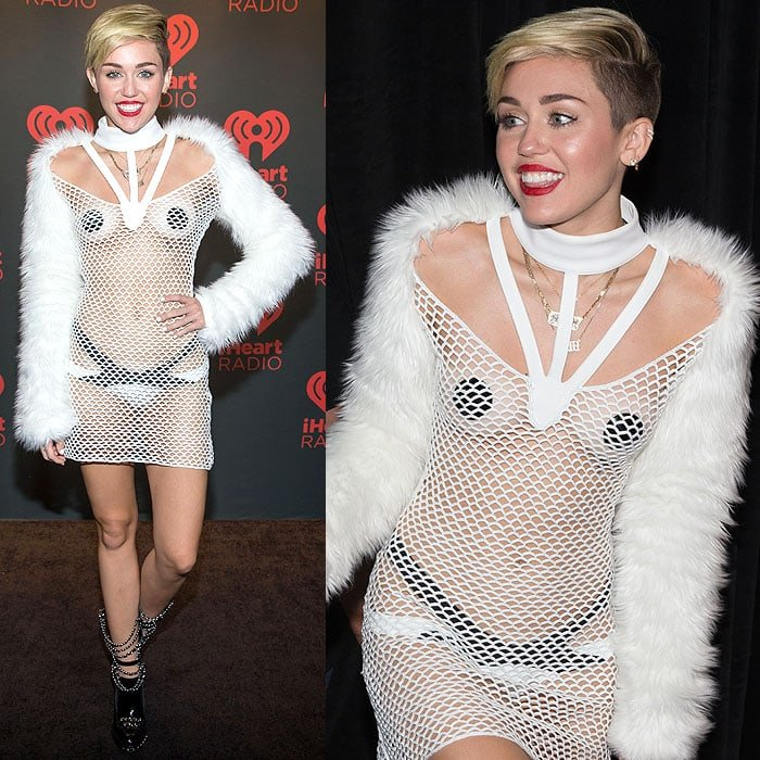 Miley Cyrus at the 2013iHeart Radio Music Festivalat the MGM Grand Garden Arena in Las Vegas, Nevada, on September 21, 2013