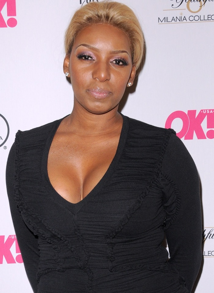 Nene Leakes at the 'OK! TV' launch party at Lavo Nightclub in Manhattan, New York City, on September 9, 2013