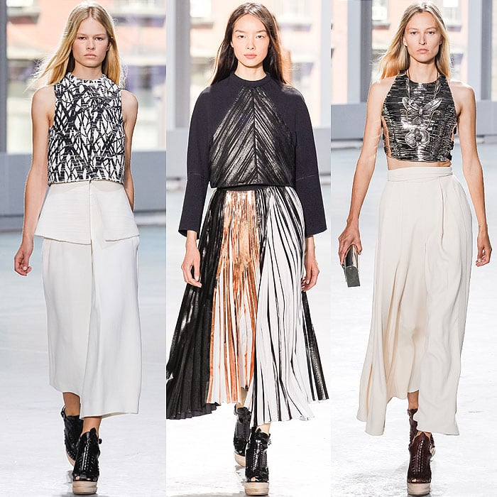 Looks from the Proenza Schouler Spring 2014 collection