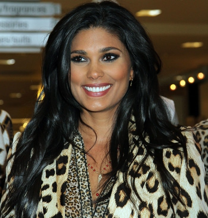 Rachel Roy launching the fall/winter 2013 lineup of her diffusion line, RACHEL Rachel Roy, at Macy's inside the Fashion Show Mall in Las Vegas on September 27, 2013