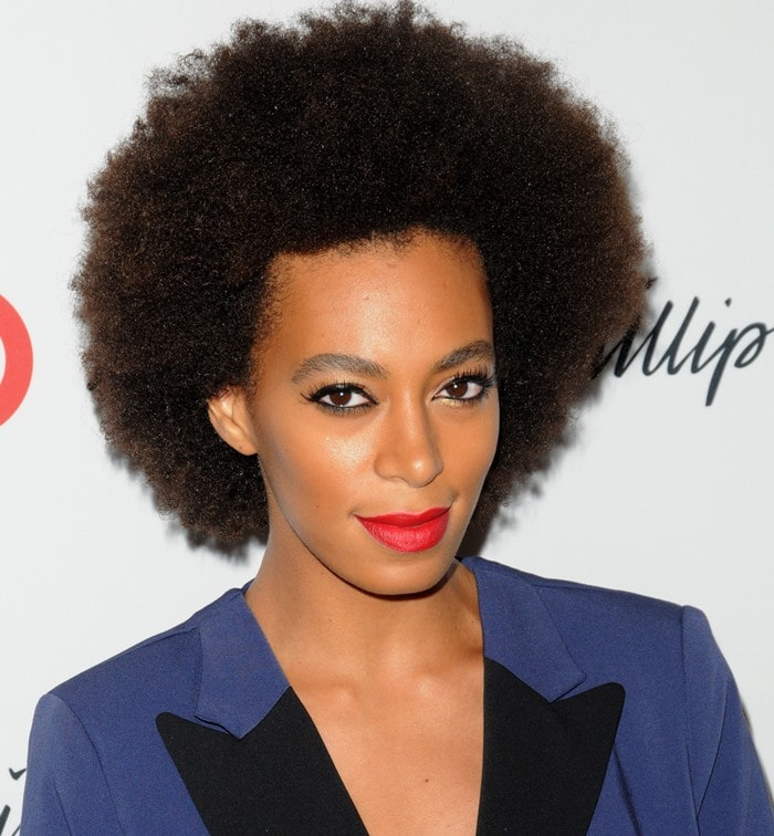 Solange Knowles Face