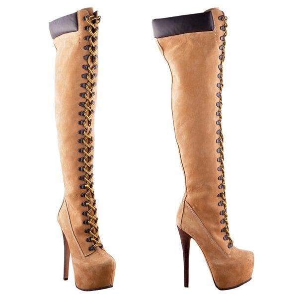 "ZiGiNY ""Sense"" Suede Boots"