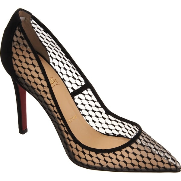 christian louboutin pigaresille 100 mm