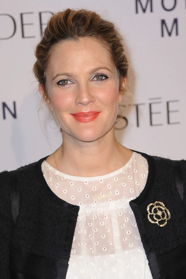 Drew Barrymore looking more radiant than ever