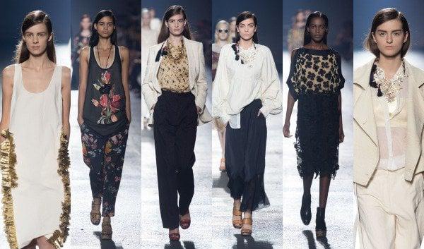 Dries Van Noten SS14 Paris Fashion Week